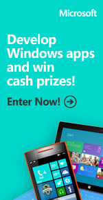 Develop apps, get cash. Enter the APPortunity sweepstakes!